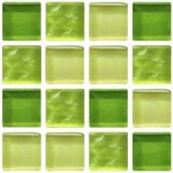 Amazon 25x25x4 mm üvegmozaik
