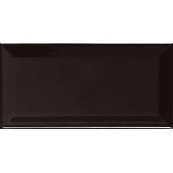 Ape Metro Biselado Negro Brillo falicsempe 10 x 20 cm