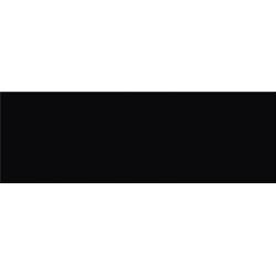 Opoczno Pret a Porter Black Glossy falicsempe 25x75 cm