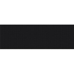 Opoczno Pret a Porter Black Textile falicsempe 25x75 cm