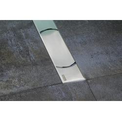 Ravak Chrome rozsdamentes acél zuhanyfolyóka 105 cm
