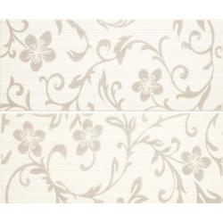 Color Crypton Glam White 2 részes dekorcsempe 25x60 cm