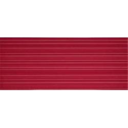 Color Crypton Red falicsempe 25x60 cm