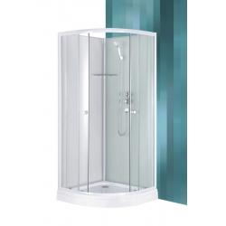 Roltechnik Sanipro Eco Box komplex üveg-kivitelezésű hidromasszázs kabin 90 cm