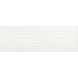 Opoczno Elegant Stripes White Structure falicsempe 25x75 cm