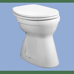 Alföldi Bázis Alsó Kifolyású Laposöblítésű Álló WC 4037 00