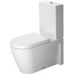 Duravit Starck 2 Mélyöblítésű Hátsó Alsó Vario Kifolyású Kombináció Álló WC 212909 00 00