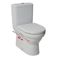Jika Tigo 824216 Mélyöblítéses VARIO Lefolyós Kombi Álló WC