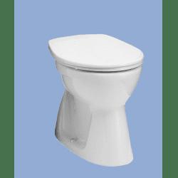 Alföldi Bázis Laposöblítésű Alsó Kifolyású Álló WC 4032 00