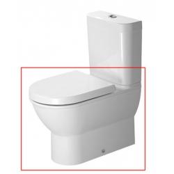 Duravit Darling New Mélyöblítésű Vario Kifolyású Kombináció Álló WC 213809 00 00