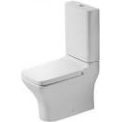 Duravit PuraVida Mélyöblítésű Vario Hátsó Alsó Kifolyású Kombináció Álló WC 211909 00 64