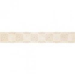 Kwadro Capella Geometryk Beige dekorcsík 4,8 x 25 cm
