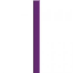 Kwadro Listwy szklane Purpura dekorcsík 2,3 x 25 cm