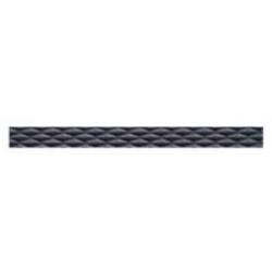 Azulev Solid Listelo Geometric Antracita dekorcsík 5 x 60 cm