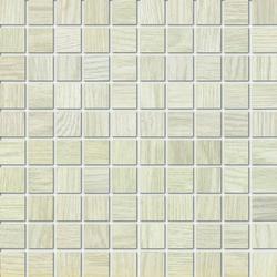Marazzi Treverk M7XL Mosaico Treverk White üvegszálas ragasztott mozaik 30 x 30 cm