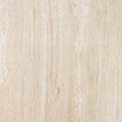 Porcelanosa Travertino Romano Mármol Romano Marfil G-R rektifikált gres padlólap 43,5x43,5 cm