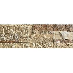 Mijares Menfis Ocre falburkolat 15 x 45 cm