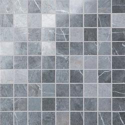Marazzi Evolutionmarble MH44 Mosaico Evolutionmarble Grey / Grey Lux üvegszálas ragasztott mozaik 30 x 30 cm