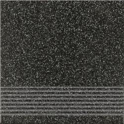 Opoczno Milton Graphite Steptread lépcsőlap 29,7 x 29,7 cm