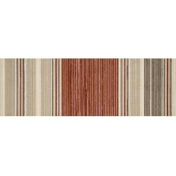 Marazzi Oficina7 MKVD Decoro Avorio / Beige / Rosso / Tabacco dekorcsempe 32,5 x 97,7 cm