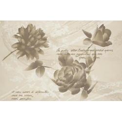Marazzi Oficina7 MKVF Decoro Beige / Rosso / Tabacco dekorcsempe 2 részes 32,5 x 97,7 cm