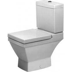 Duravit 2nd floor Mélyöblítésű Hátsó Kifolyású Kombináció Álló WC 210709 00 00
