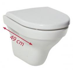 Jika Tigo 820213 Mélyöblítésű Kompact Fali WC 36x49 cm