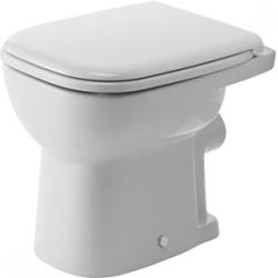 Duravit D-Code Laposöblítésű Hátsó Kifolyású Álló WC 210909 00 002