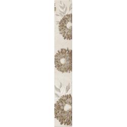 Kwadro Oktawa Kwiat Beige dekorcsík 4,8 x 33,3 cm