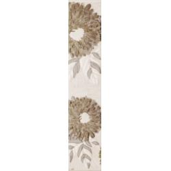 Kwadro Oktawa Kwiat Beige dekorcsík 4,8 x 25 cm