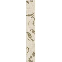 Kwadro Oktawa Ornament Beige dekorcsík 4,8 x 33,3 cm