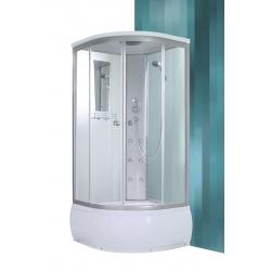 Roltechnik Sanipro Oslo Deep komplex üveg-kivitelezésű hidromasszázs kabin 90 cm