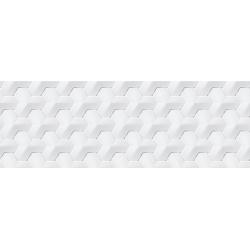 Porcelanosa Oxo Hannover Blanco rektifikált falicsempe 31,6x90 cm