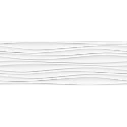 Porcelanosa Oxo Line Blanco rektifikált falicsempe 31,6x90 cm