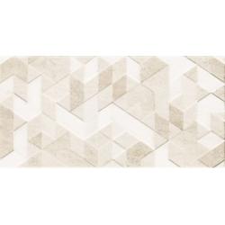 Paradyz Emilly Beige Struktura dekorcsempe 30x60 cm