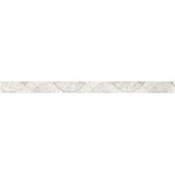 Paradyz Nirrad Biacno Listwa dekorcsík 4x60 cm