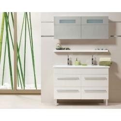Premium White 120 T-Boss Fürdőszobabútor