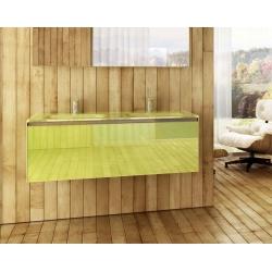 Prisma Glass 120 T-Boss Fürdőszobabútor