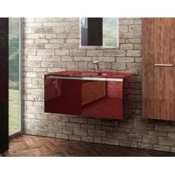 Prisma Glass 90 T-Boss Fürdőszobabútor