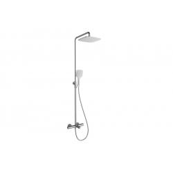 Ravak Termo 300 TE 092.00/150 zuhanyoszlop kádhoz termosztátos csapteleppel, állítható fej - és kézizuhannyal