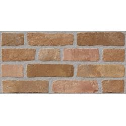 Kanizsa Red Brick falburkolat 25x50 cm