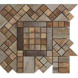 Rondine Metalwood Beige Angolo J84376 sarokelem 30,5x30,5 cm