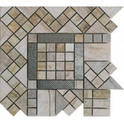 Rondine Metalwood Grey Angolo J84378 sarokelem 30,5x30,5 cm