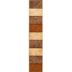 Kwadro Rufus Brown dekorcsík 7,7 x 40 cm