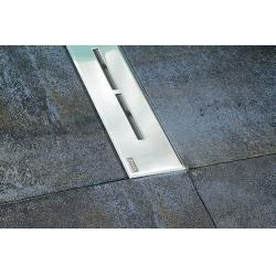 Ravak Runway rozsdamentes acél zuhanyfolyóka 105 cm