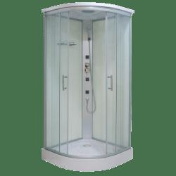 Sanotechnik Tango CL03 íves hidromasszázs zuhanykabin 90 cm