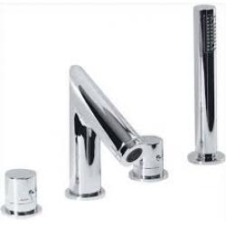 Sapho TH101 4 részes termosztátos kádperemre szerelhető kád csaptelep
