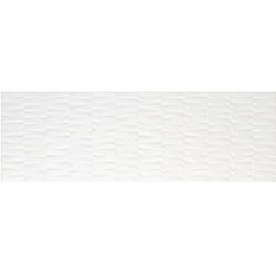 Azulev Vanity Bricks White fehér falicsempe 30 x 90 cm