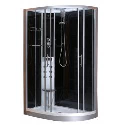 Sanotechnik Vario CL120 íves hidromasszázs zuhanykabin 80x120 cm