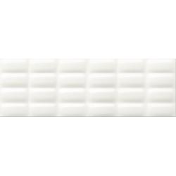 Opoczno Pret a Porter White Glossy Pillow falicsempe 25x75 cm